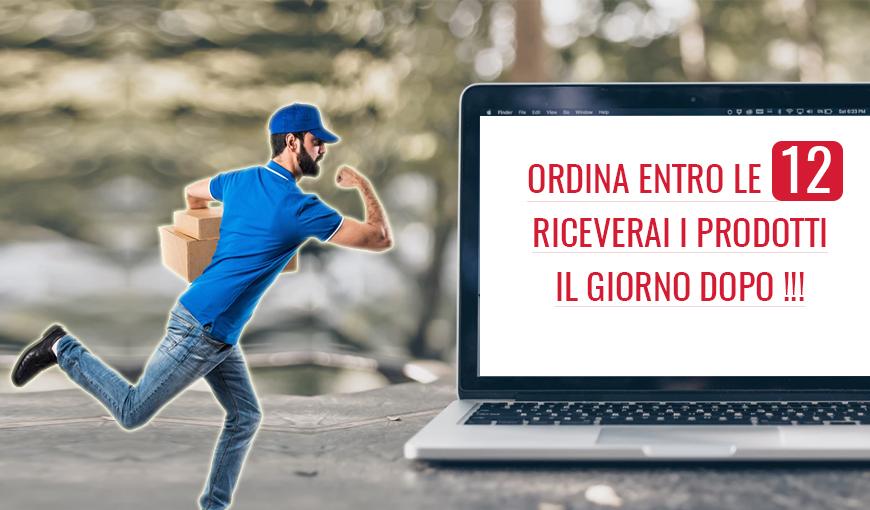 Spedizioni in tutta Italia